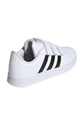 adidas Vl Court 2.0 Cmf Beyaz Unisex Çocuk Sneaker 2
