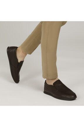 Polaris 160005.M Kahverengi Erkek Comfort Ayakkabı 100500854 0