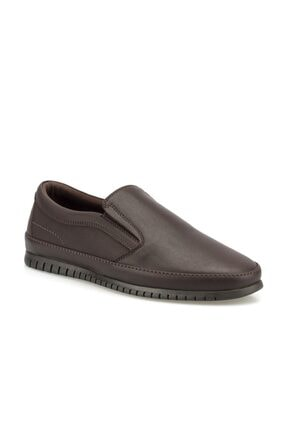 Polaris 160005.M Kahverengi Erkek Comfort Ayakkabı 100500854 2