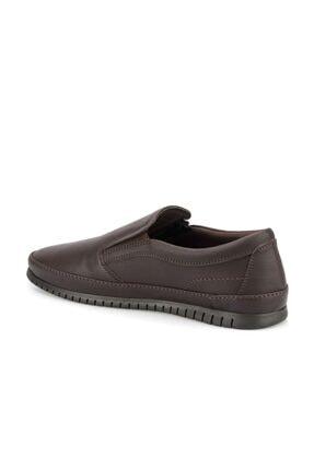 Polaris 160005.M Kahverengi Erkek Comfort Ayakkabı 100500854 4