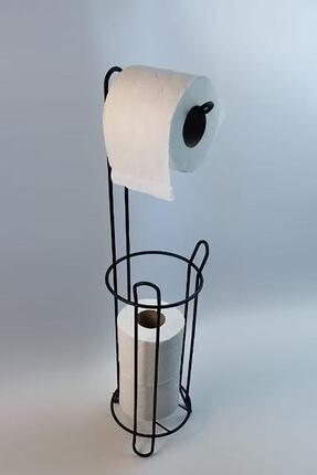 Depa Ferforje Wc Tuvalet Kağıtlık Siyah 1