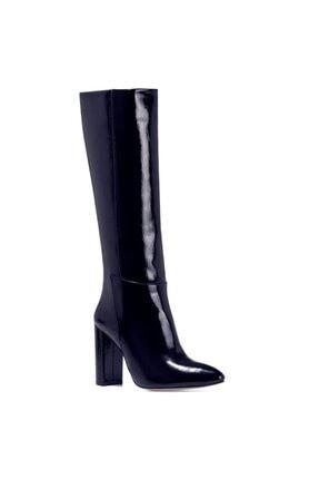 Nine West MIMA Lacivert Kadın Ökçeli Çizme 100582032 1