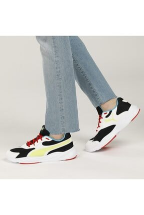 Puma 90s Runner Beyaz Erkek Koşu Ayakkabısı 4