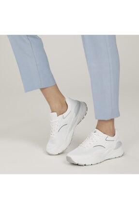 Lumberjack RATH WMN Beyaz Kadın Sneaker Ayakkabı 100587238 4