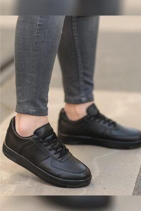 Nmoda Unisex Siyah Spor Ayakkabı Sneakers 1