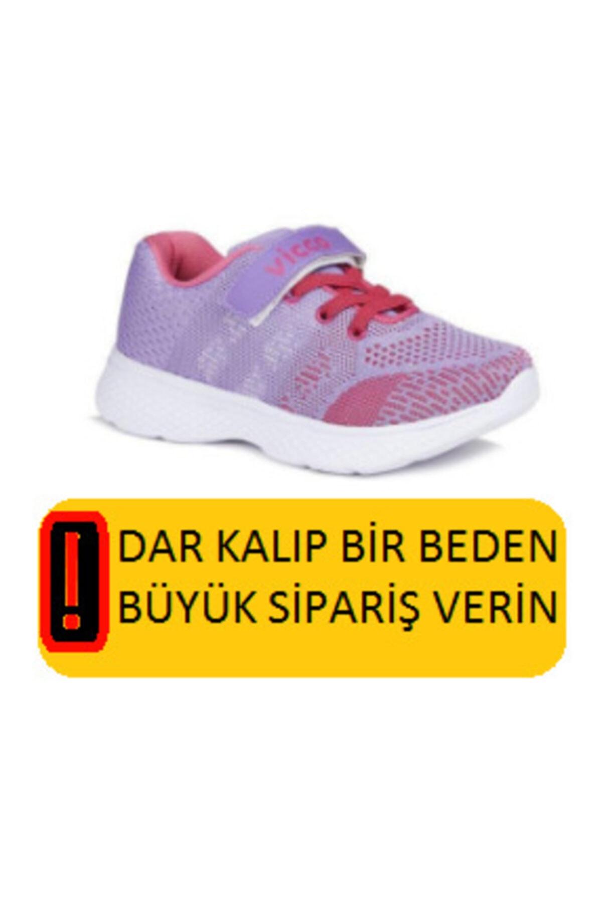 346.p20y.215 Hutson Kız Çocuk Spor Ayakkabı Lila 26-29