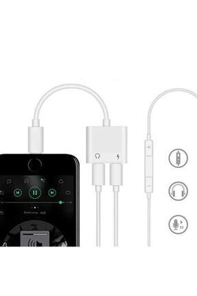 Ally Iphone Ipad Lightning Kulaklık Ve Şarj Çevirici Çoğaltıcı Kablo 2