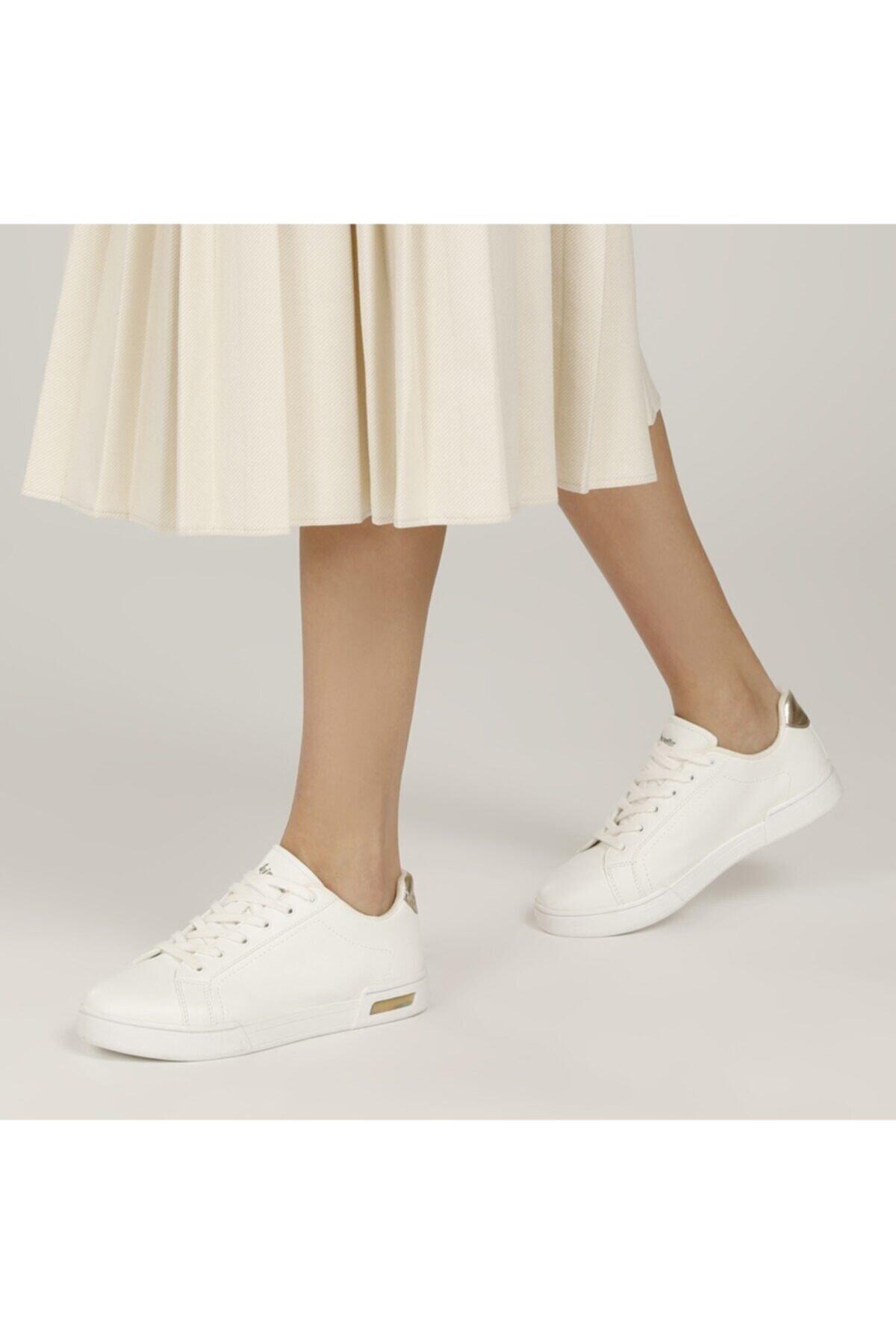 DIPSY 1FX Beyaz Kadın Havuz Taban Sneaker 100667574