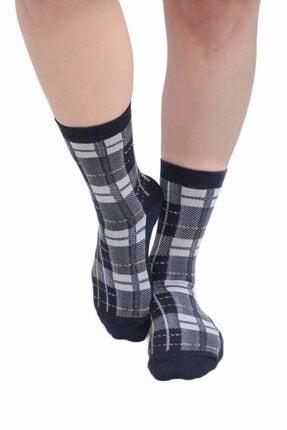 Desenli Kadın Soket Çorap 957 | Lacivert Lacivert 36-40 resmi