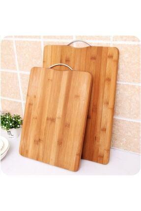 Bambu Aşçıbaşı Antibakteriyel Bambu Kesme Sunum Tahtası 34*24 Ve 30*20 cm 3