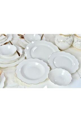 AROW 24 Parça 6 Kişilik Porselen Yemek Takımı 2