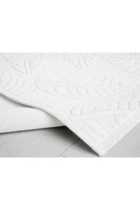 English Home Leafy Pamuklu Kilim 60x100 Cm Beyaz 2