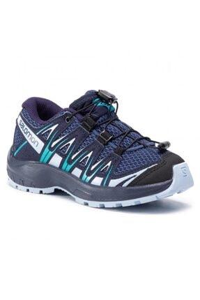 411245 Xa Pro 3d J Blue Indigo/kentucky Blue/capri Kadın Outdoor Ayakkabı resmi