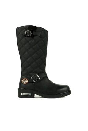Hammer Jack Kadın Siyah Çizme 102 15980-z 2