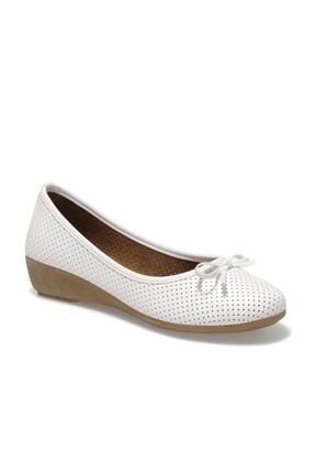Polaris 161658.Z1FX Beyaz Kadın Comfort Ayakkabı 100984643 3