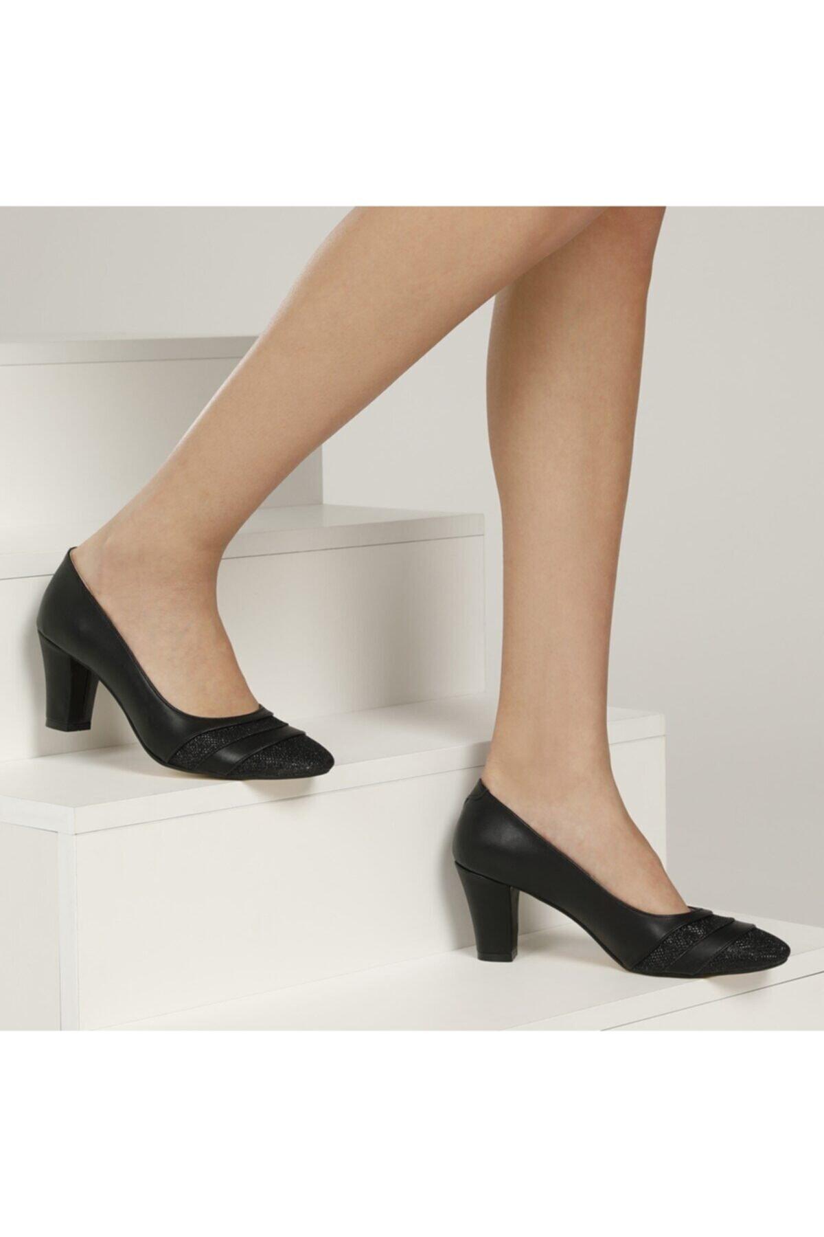317080pz 1fx Siyah Kadın Gova Ayakkabı