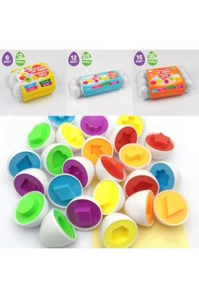 Circle Toys Geometrik Yumurta Eşleme 6'lı Piyatoys 2