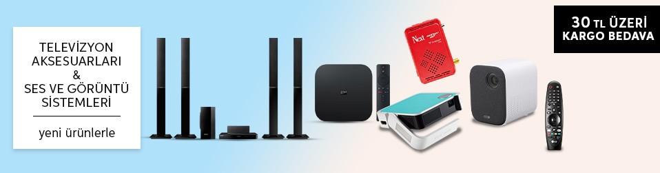 Televizyon Aksesuarları & Ses Görüntü Sistemleri   Online Satış, Outlet, Store, İndirim, Online Alışveriş, Online Shop, Online Satış Mağazası