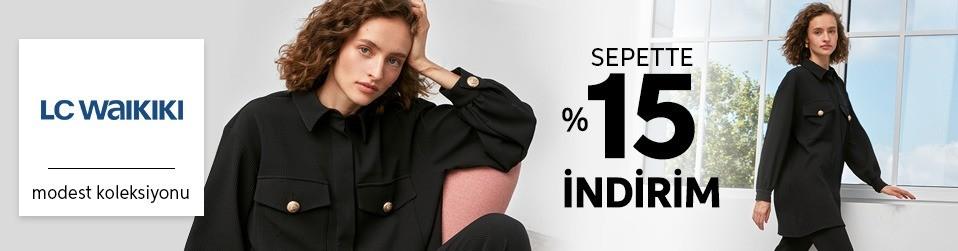LC Waikiki - Modest - Sepette %15 İndirim