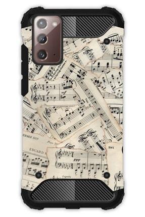 Cekuonline Samsung Galaxy Note 20 Kılıf Desenli Antishock Crash Kapak - Beste Nota 0