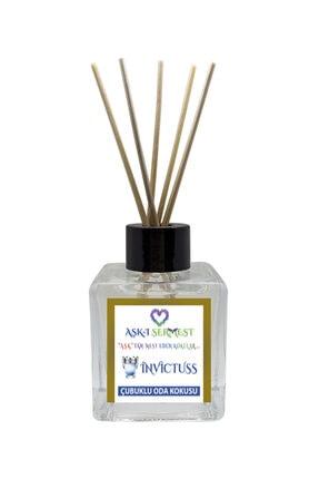 aşk-ı sermest Limon Aromalı Bambu Çubuklu Oda Kokusu Parfüm, Küp Şişe, 120 ml7'li Paket 0