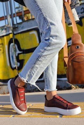 Chekich Ch011 Bt Kadın Ayakkabı Bordo 2