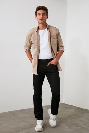 TRENDYOL MAN Siyah Erkek Straight Jeans TMNAW20JE0002 0