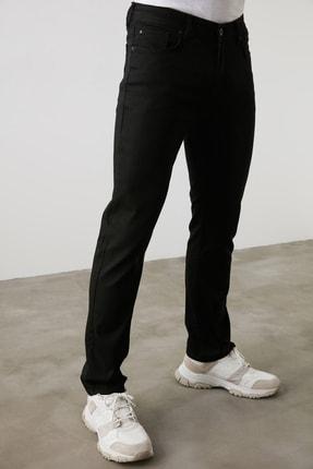TRENDYOL MAN Siyah Erkek Straight Jeans TMNAW20JE0002 4