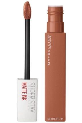 Maybelline Likit Mat Ruj - SuperStay Matte Ink Liquid Lipstick 75 Fighter 3600531469436 2