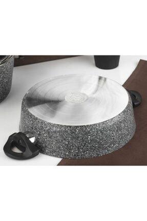 Taç Master Cook 7 Parça Granit Tencere Seti Gri Tac-3454 2