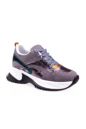 Pierre Cardin Kalın Taban Kadın Füme Spor Ayakkabı Pc-30230 1