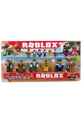 Hobimtek Roblox 6 Figürlü Oyuncak Karakter Seti 0