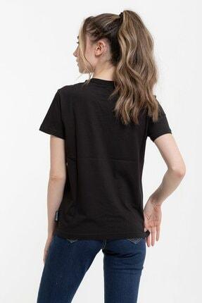 Versace %100 Pamuklu Logo&desen Baskılı Kadın T-shirt 2