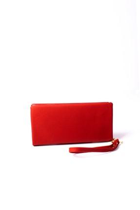OPSLET Kırmızı Kadın Cüzdan Ops110 1