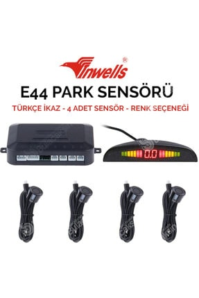 Inwells Park Sensoru E44 4 Sensorlu Grı Turkce Konusan 0