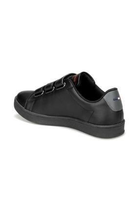 US Polo Assn Siyah Cırtlı Sneaker Ayakkabı 1