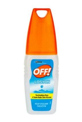 OFF Sivrisinek Ve Karasineklere Karşı 6 Saat Etkili Losyon 0