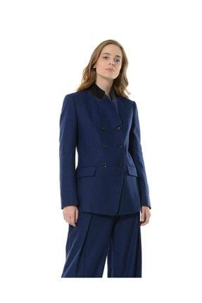 BİRELİN Kadın Mavi Nazorin Ceket 3