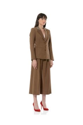 BİRELİN Kadın Kahverengi Terra Ceket 1