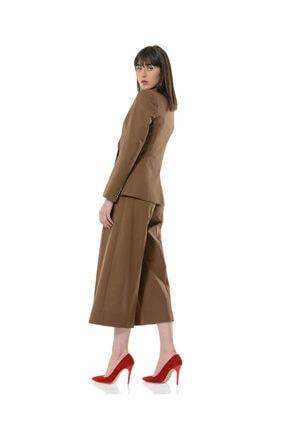 BİRELİN Kadın Kahverengi Terra Ceket 2