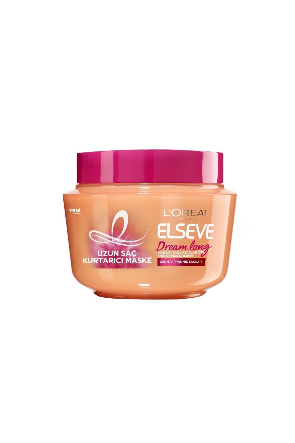 Elseve Dream Long Uzun Saç Kurtarıcı Saç Maskesi 300 ml 1