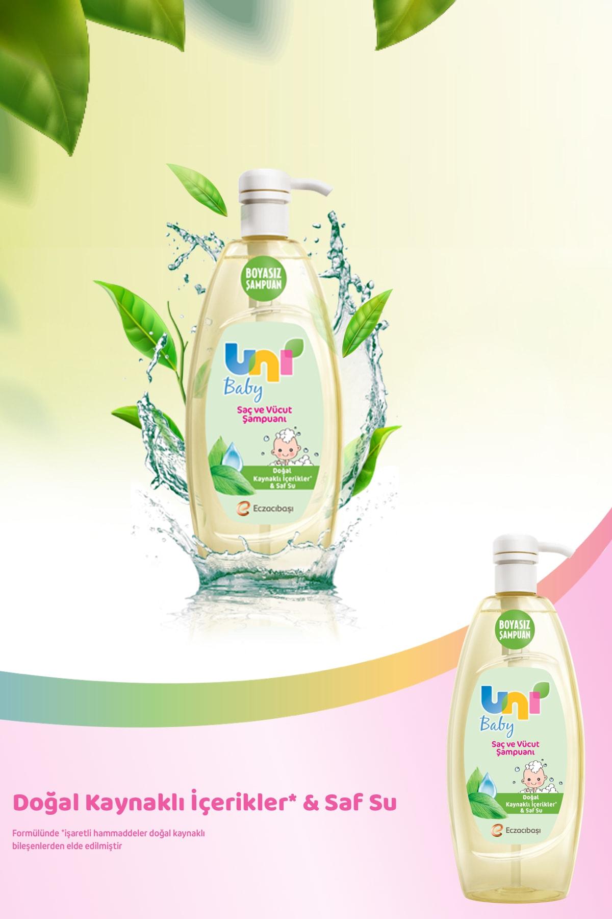 Uni Baby Bebek Şampuanı 900 ml x3 2