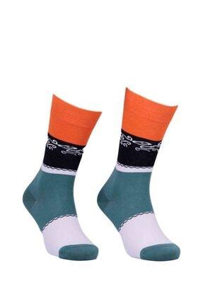 PRO Turuncu Sokrates Penye Unisex Çorap 11004 0