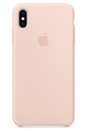 Ebotek Iphone Xs Max Kılıf Silikon Içi Kadife Lansman Toz Pembe 0