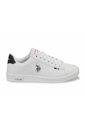 Polo U.s. Assn. Franco Dhm Beyaz Unisex Sneaker Ayakkabı 1