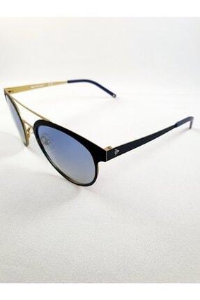 Dunlop Oval Cat Eye Tasarım Siyah Bakır Metal Hafif Çerçeveli Kadın Güneş Gözlüğü 2