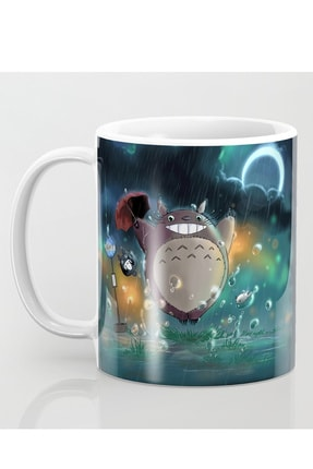 MET DESİGN Totoro Oxz Porselen Kupa Bardak 0