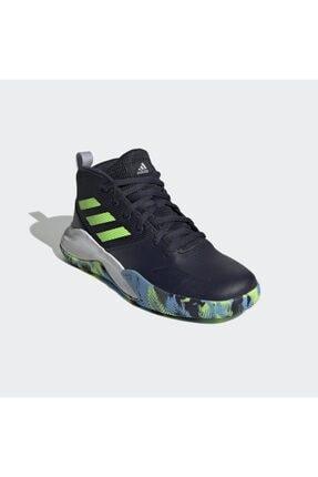 adidas Kadın Siyah Own The Game Wide Basketbol Ayakkabısı 4