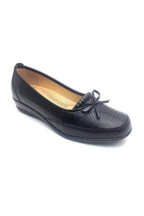 Derilax Kadın Siyah Tam Ortopedik Anne Ayakkabısı 0