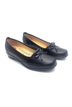 Derilax Kadın Siyah Tam Ortopedik Anne Ayakkabısı 2